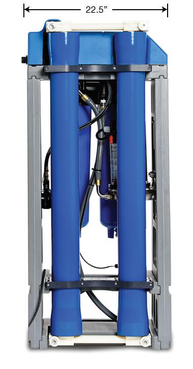 HANS™ Premium Water Appliance - Rear View
