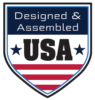 Designed & Assembled in the USA
