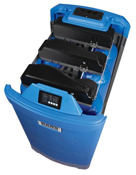 HANS™ Premium Water Treatment Module top angle view